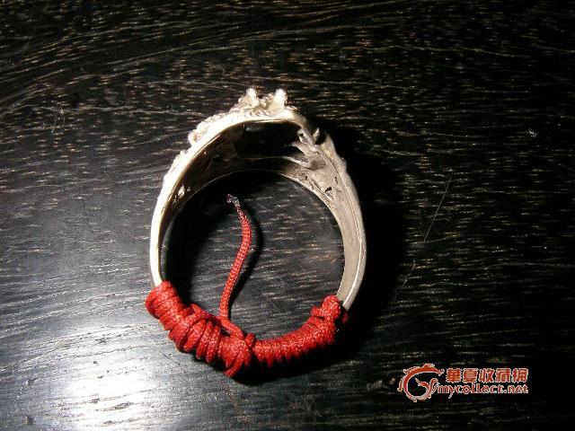红绳缠戒指方法图解