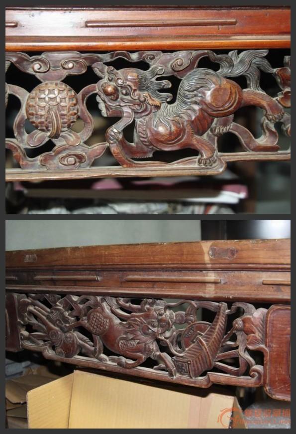 清代楠木桌子
