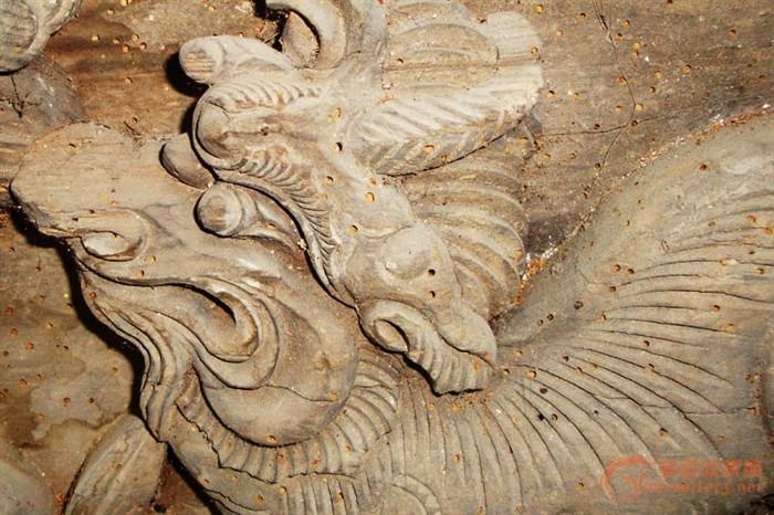 古建筑木雕构件