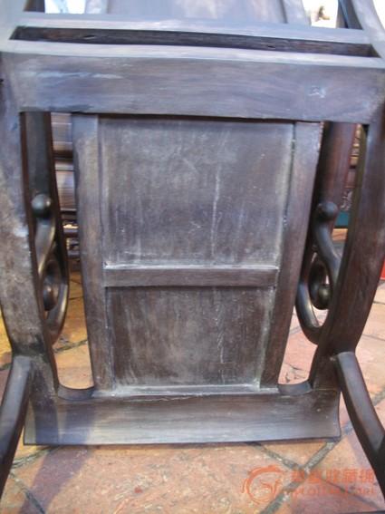 清 酸枝三件套躺椅(二椅一几) #图6