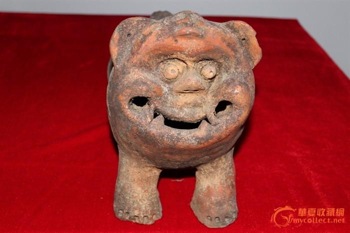 明代猪王(陶猪)#图1