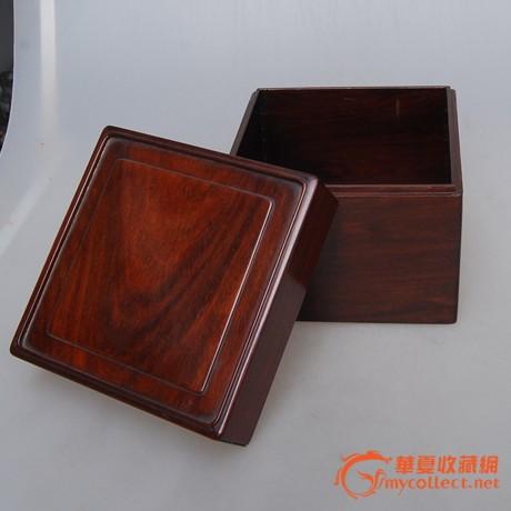 外带日本木箱. 材质为黄花梨或红木.