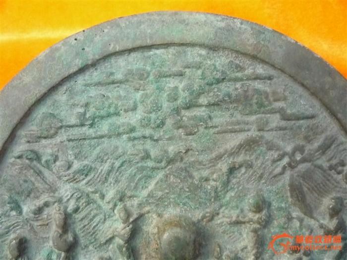 242.宋代八仙过海铜镜(直径23cm) 010-52421259 捡漏网