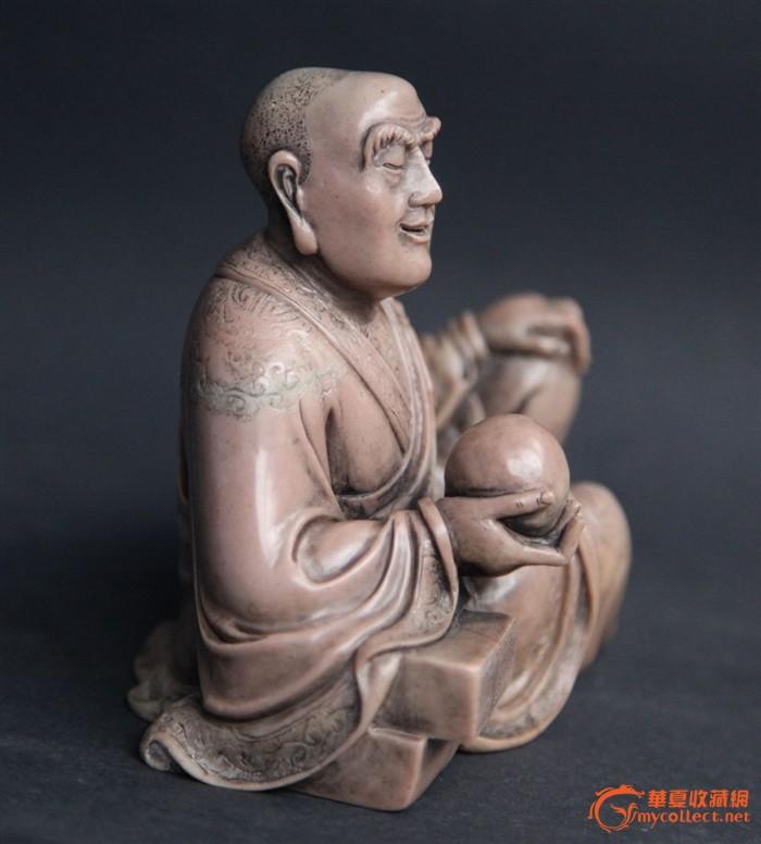清代精品寿山石罗汉像图2
