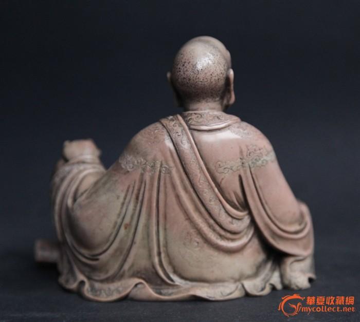 清代精品寿山石罗汉像图4