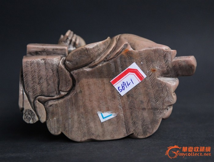 清代精品寿山石罗汉像图5