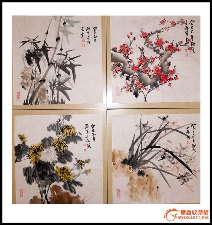 梅兰竹菊-图1