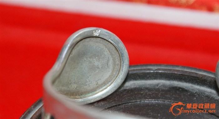 3855-银镶嵌半蜡半珀手镯图4