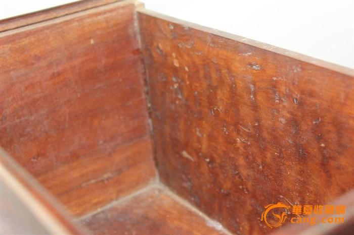 明代青花梅瓶(带盖)配金丝楠木箱