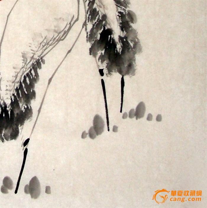 花鸟画仙鹤寿桃gh00076