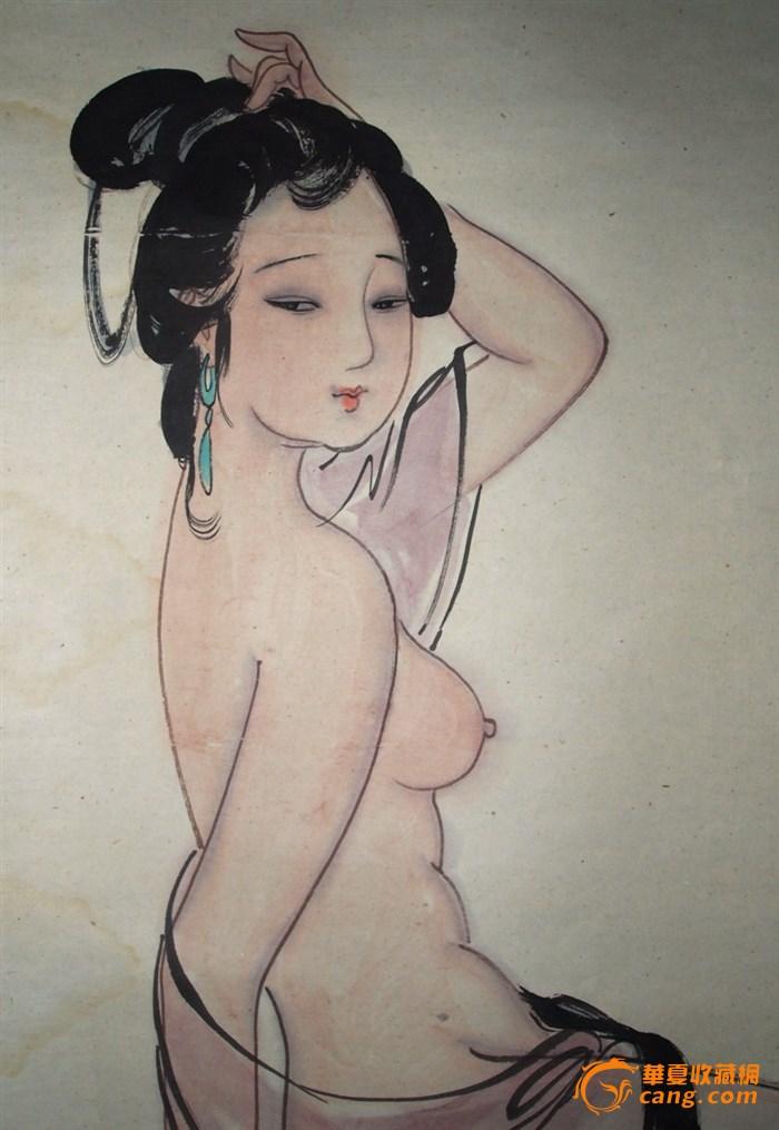 现代美女人物画作品