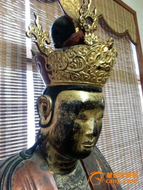 【超大】明代福建木雕佛像