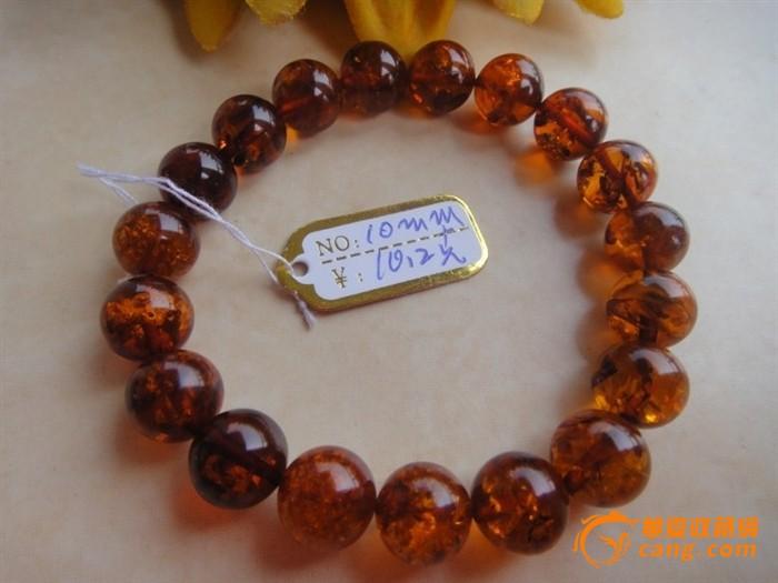 圆珠子手链/琥珀时尚
