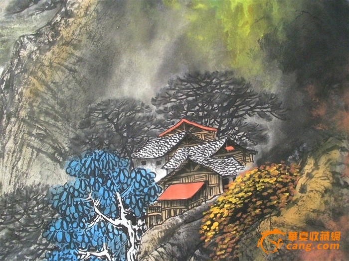 宝泉风景区结构图