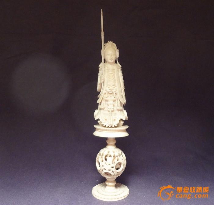 (珍贵材料)古代女将军像*14-9(6892)