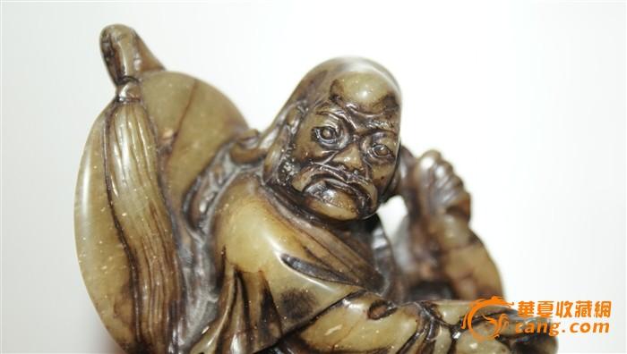 4348 寿山石伏虎罗汉图4