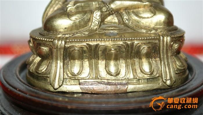 4359 清中期文珠菩萨造像图4