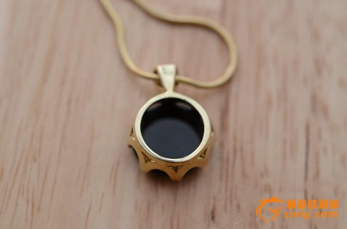 德国珠宝设计师纯手工双层玛瑙天使银鎏金吊坠项链 至美精品