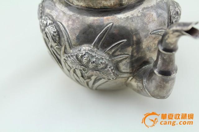 现货 海外回流 茶壶 三件套 竹子 兰花图7