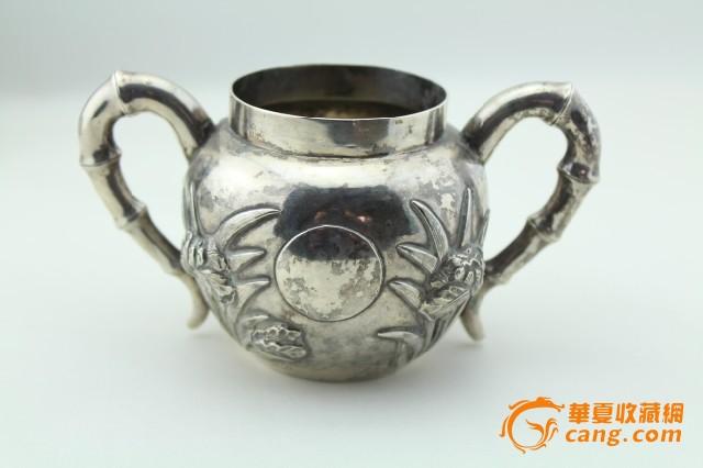 现货 海外回流 茶壶 三件套 竹子 兰花图8