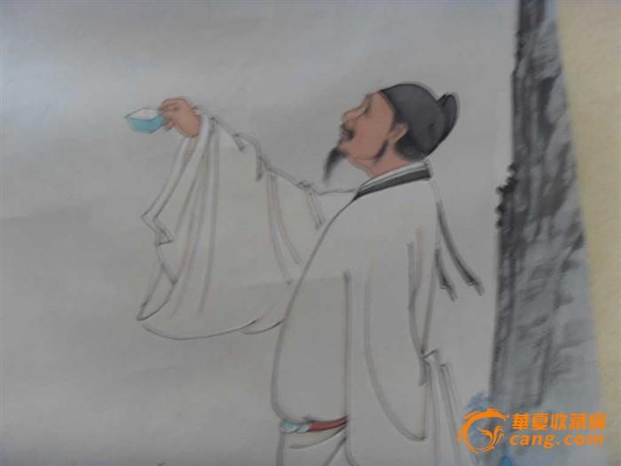 qq头像王者荣耀李白素描