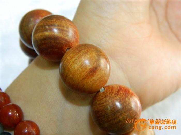 血龙木手串 能沉水 透红光(珠径20mm)