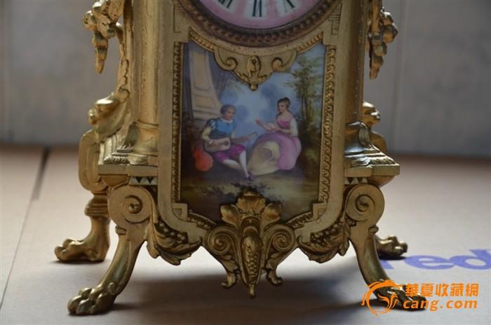 德国meissen梅森 古董人物雕塑瓷器蜡台一对 德国meissen梅森 青花瓷