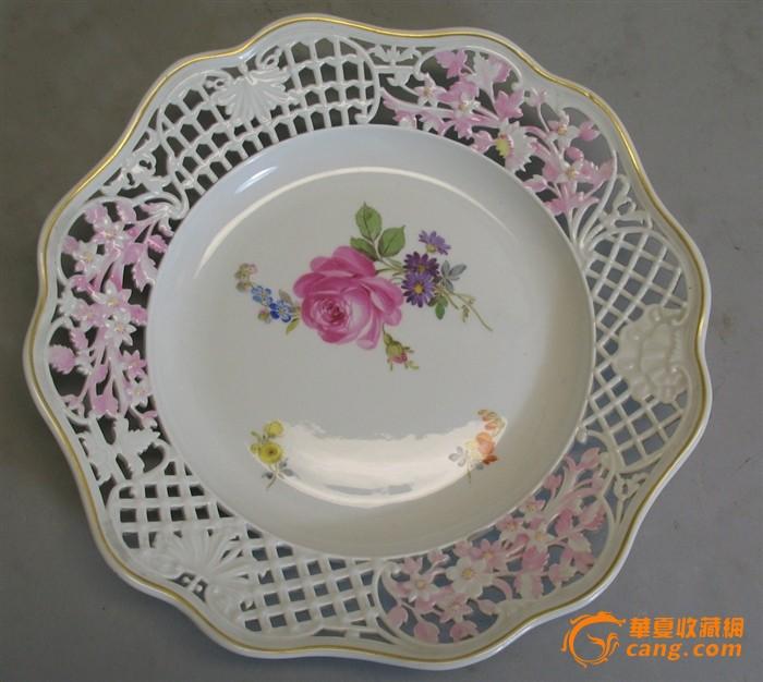 陶瓷盘子图案手绘图简单