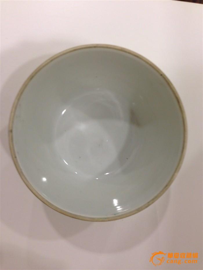 碗碟 品相: 全品 内容: 人物故事 描述: 同治时期人物粉彩小碗配红木
