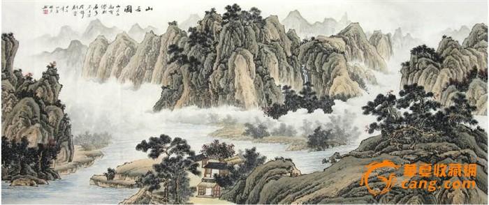 秦明芳·小八尺工笔山水