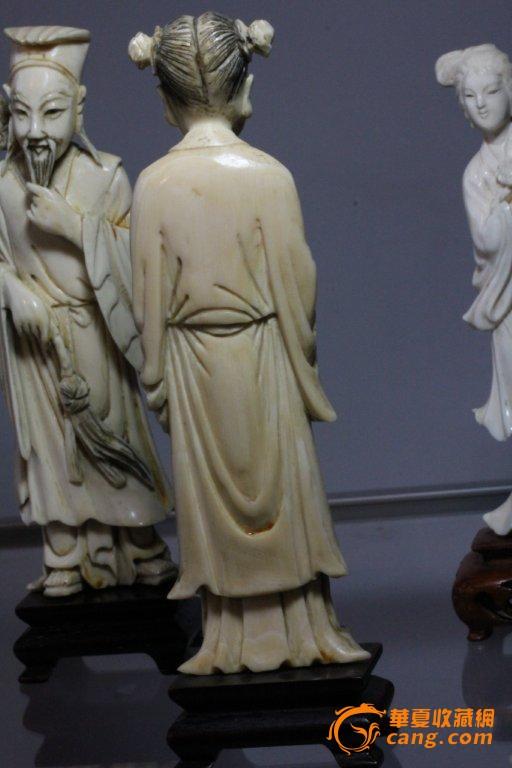 雕像 蓝采和 珍贵 材质 摆件 回流 八仙 之一/