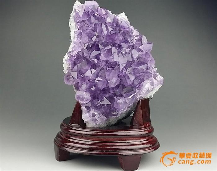 天然紫水晶摆件
