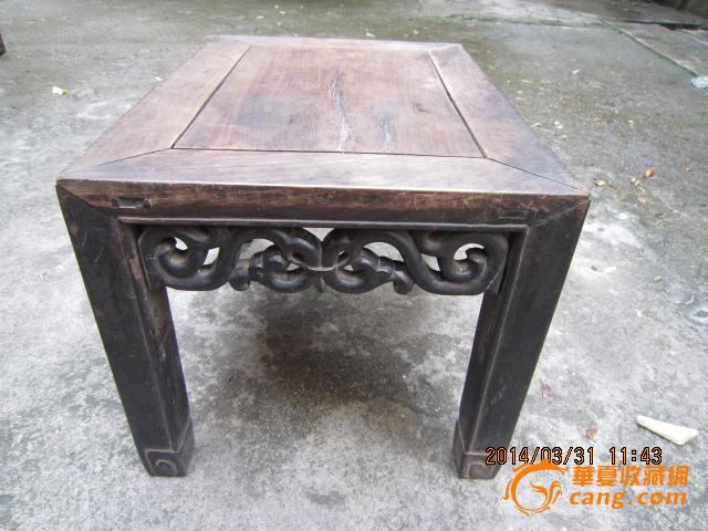清代酸枝木老家具炕几茶几古玩怀旧艺术品摆设