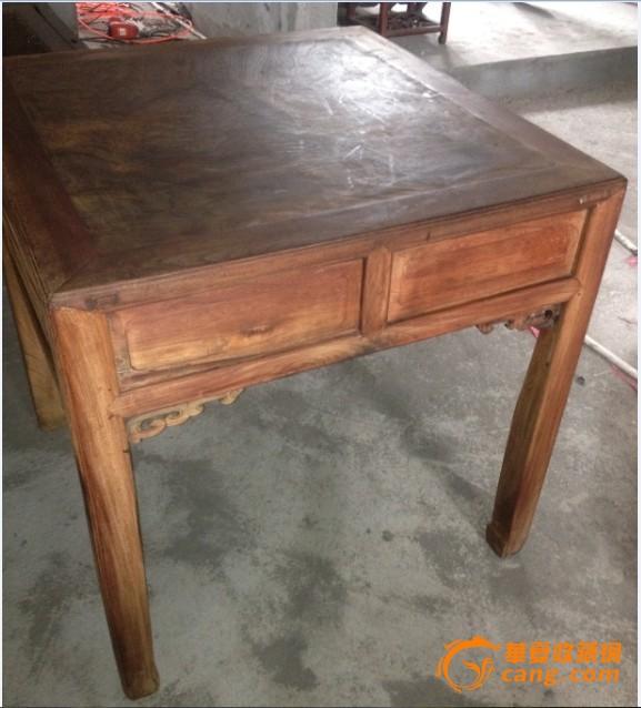 樱木独板面小棋牌桌
