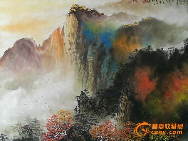 大熊画家乡首次中国画山水艺术展