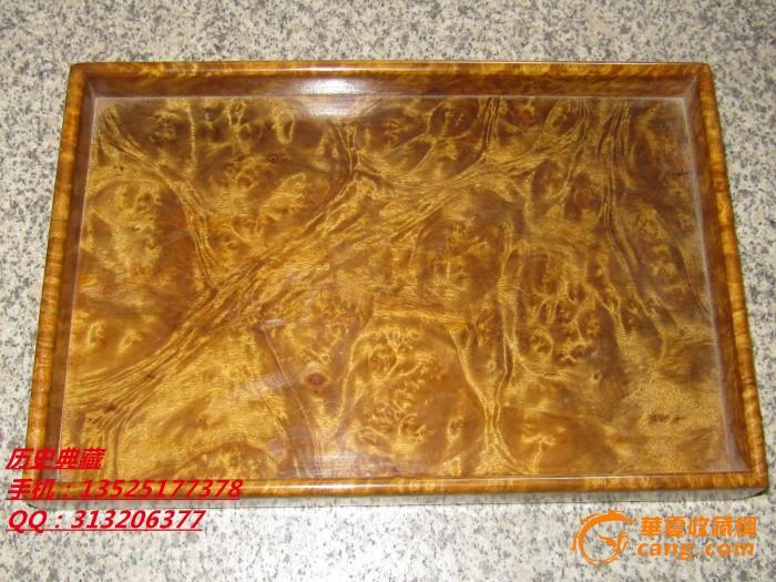 木艺木雕精品金丝楠木水果盘子摆件纹理精美色泽纯正收藏品