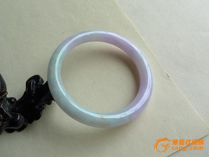 紫罗兰圆条手镯 53mm