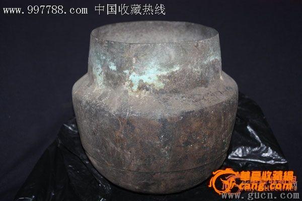 汉代 青铜器 釜子 摆件 特价老玉玉器字画古玩瓷器 汉代 青铜器 釜子 图片