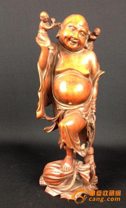 黄杨木雕-图1