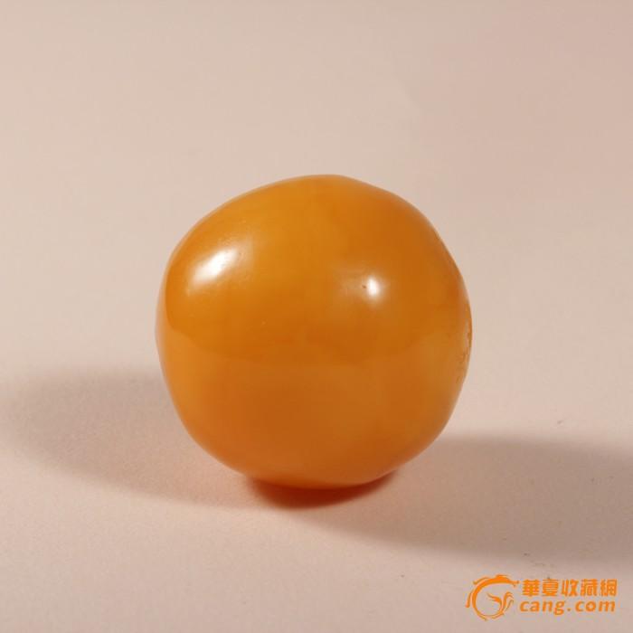 天然老蜜蜡圆珠散珠 欧洲回流 23mm