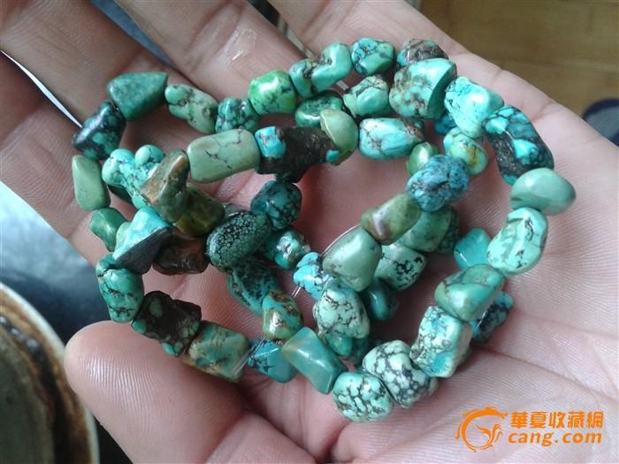藏传老绿松石项链图5