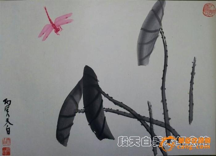 蜻蜓国画画法步骤