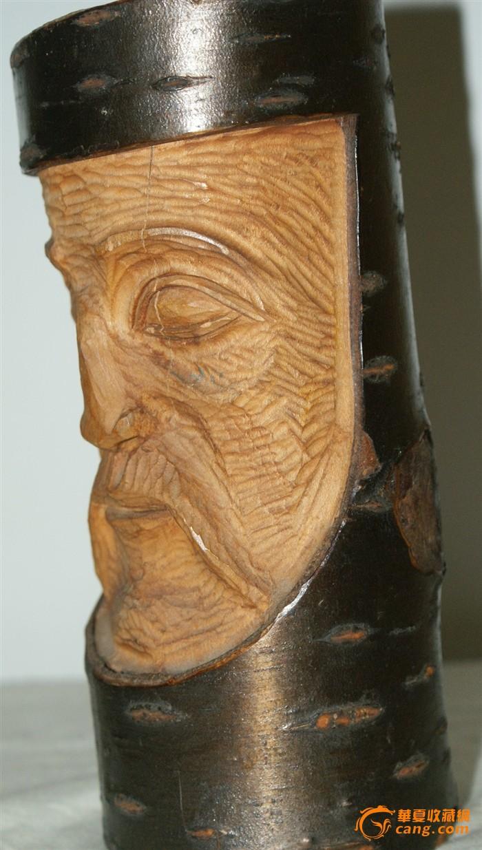 0081 欧洲木雕人物