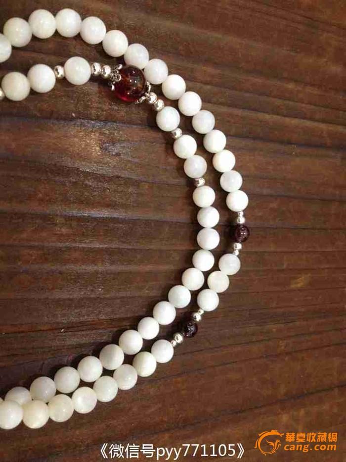 《龙泉堂》砗磲项链 佛珠 原创设计 手串 手链