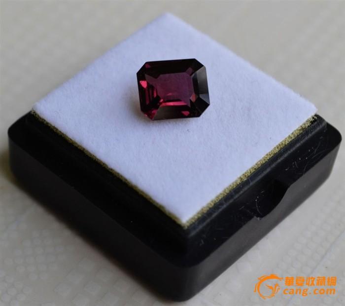 尖晶石 缅甸纯天然尖晶石2.18克拉图2