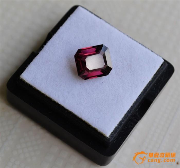 尖晶石 缅甸纯天然尖晶石2.18克拉图3