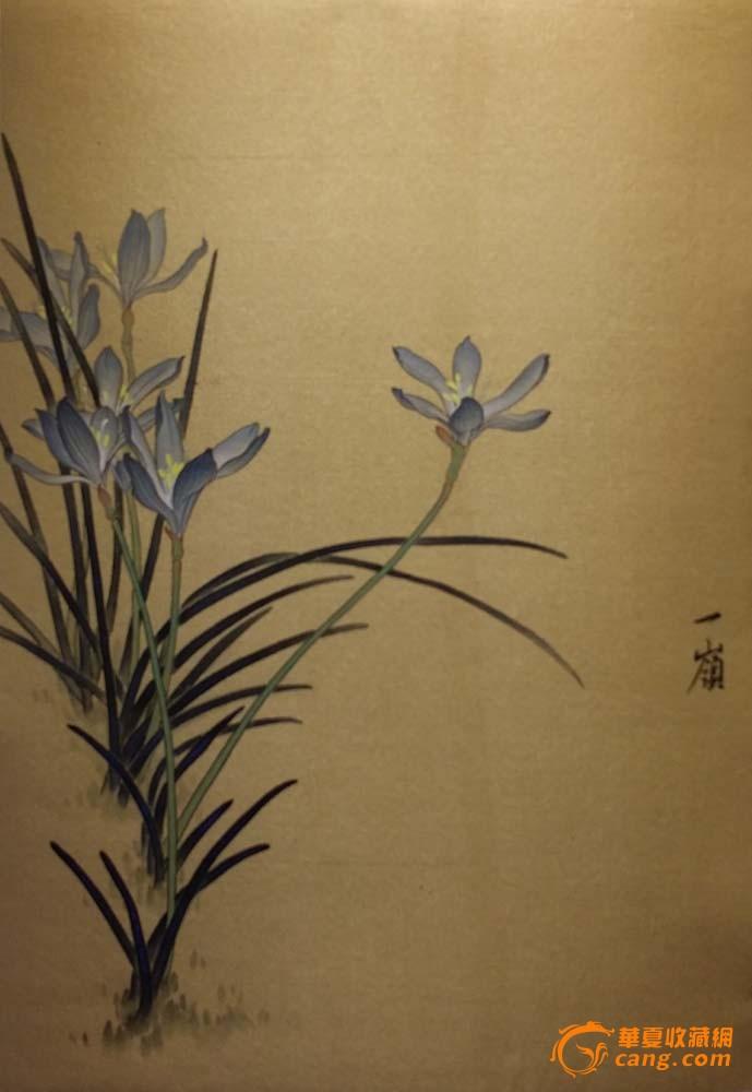 国画工笔花卉图片大全-工笔画白描图片高清_荷花金鱼线描图片大全图片