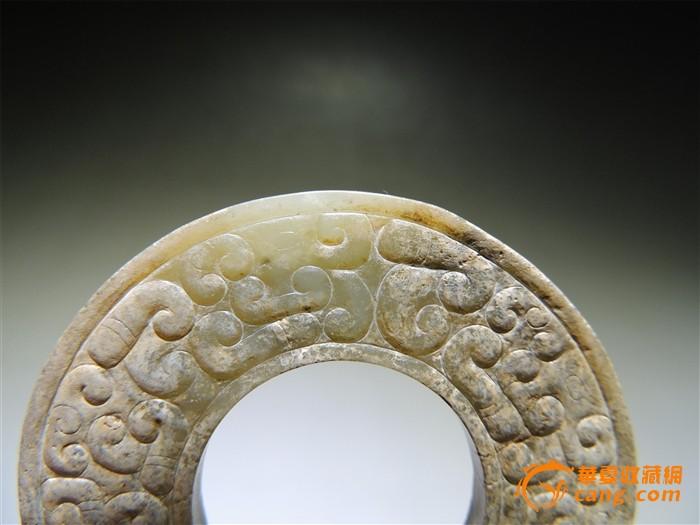 春秋战国 蟠虺纹玉环