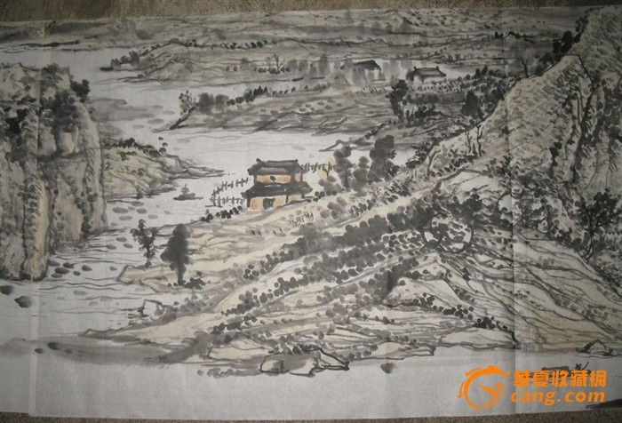 山西画院特聘画家成红军山水画
