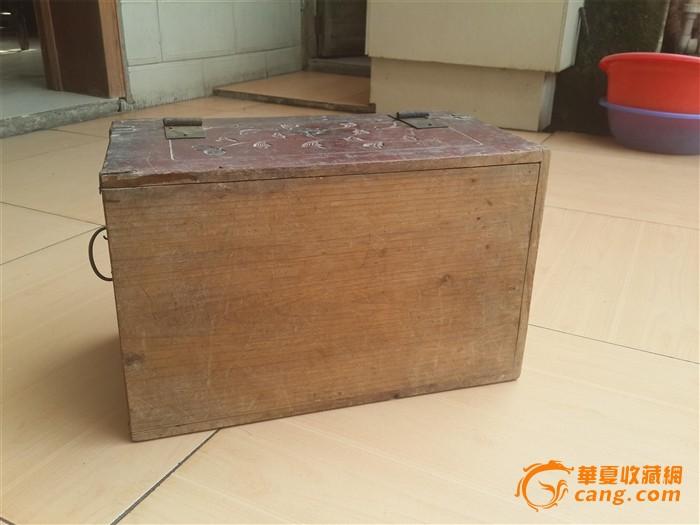 清代金丝楠木盒